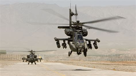 Wallpaper AH-64, Apache, attack helicopter, US Army, U