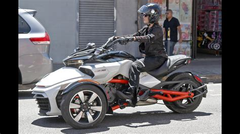 All-New Can-Am Spyder F3 EFI Spotted with No Camouflage
