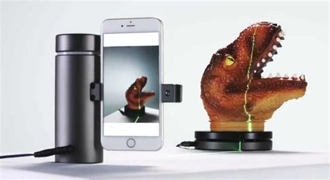 Aluminum tube turns iPhone into a 3D scanner   Cult of Mac