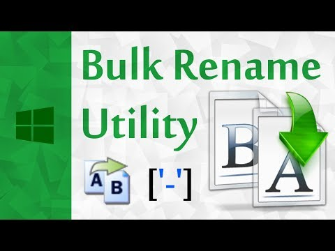 20 Free Batch File Rename Software To Rename Multiple Files