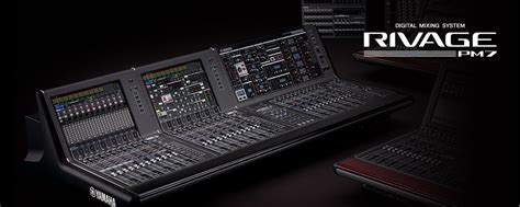 RIVAGE PM7 - Systems - Mixers - Professional Audio