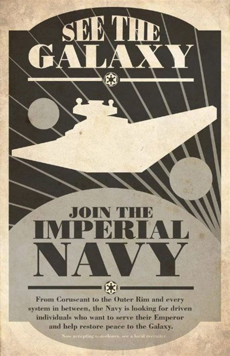 Star Wars Propaganda Posters | Earthly Mission