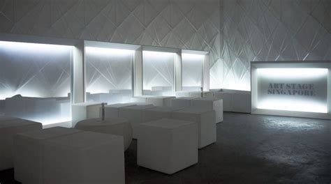 VIP lounge for Art Stage Singapore   VW+BS