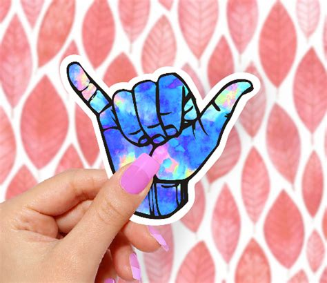 Hang Loose Ice Sticker – The Decal Bros