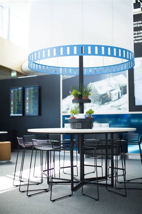 Our new domestic lounge at Oslo Airport Gardermoen at gate