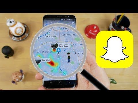 Snapchat's new Snap Map shows users their friends' locations