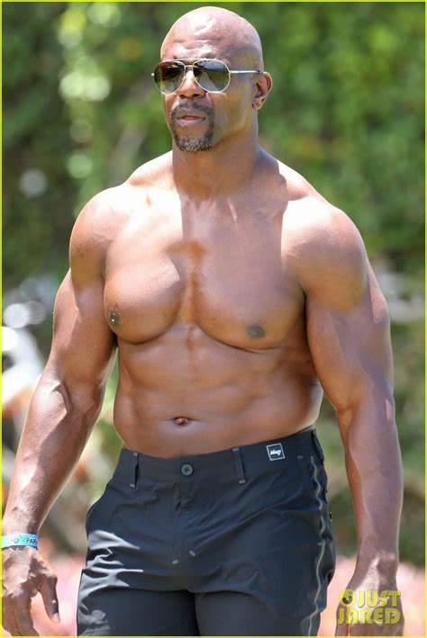 Terry Crews Shows Off Buff Body While Celebrating 50th