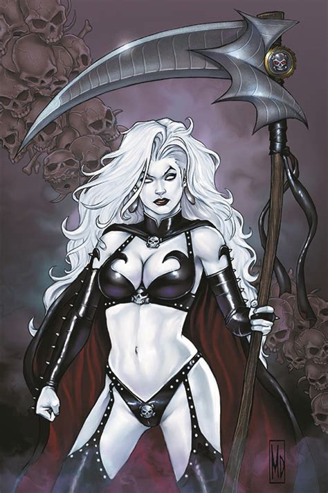 Lady Death Rules! (Signed with Print)   Fresh Comics