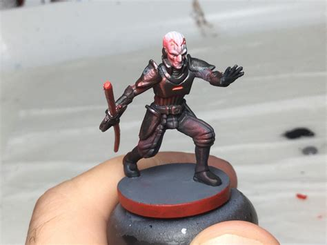 Painted up the Grand Inquisitor a couple days back from