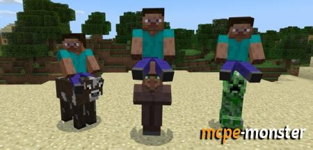 All Mobs Rideable Addon » Minecraft PE