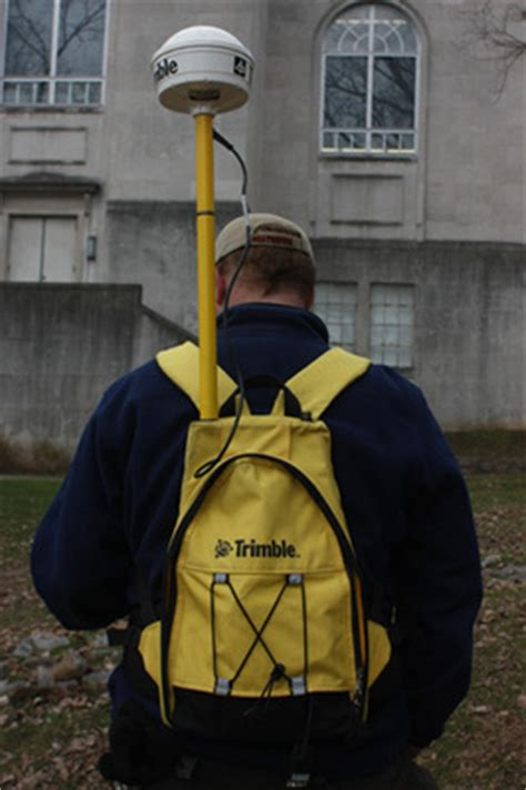 """""""GNSS Receiver & Backpack"""" by Trimble"""