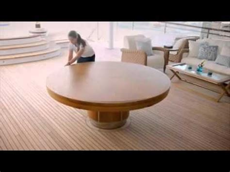 Expandable Round Dining Table - YouTube