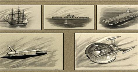 GUEST BLOG: The Lineage of Ships That Bear The Name Enterprise